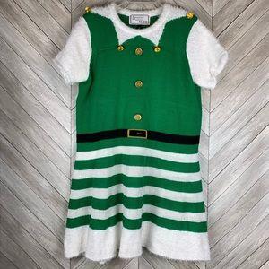 Christmas sweater dress 2x